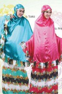 Mukena Dewasa Tatuis Tiara 080 - Pink (Toko Jilbab dan Busana Muslimah Terbaru)