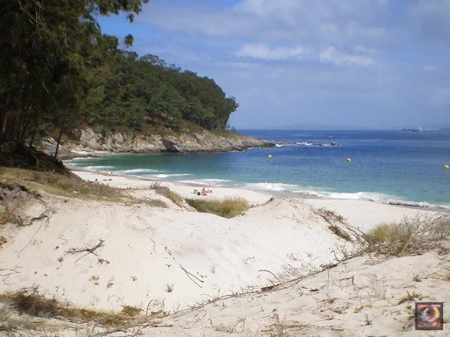 Islas Cíes en Vigo (Pontevedra)
