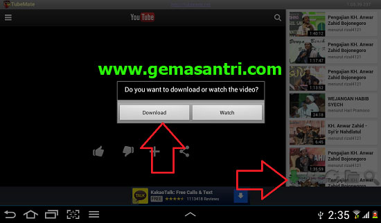 Aplikasi Android Untuk Download Video di Youtube
