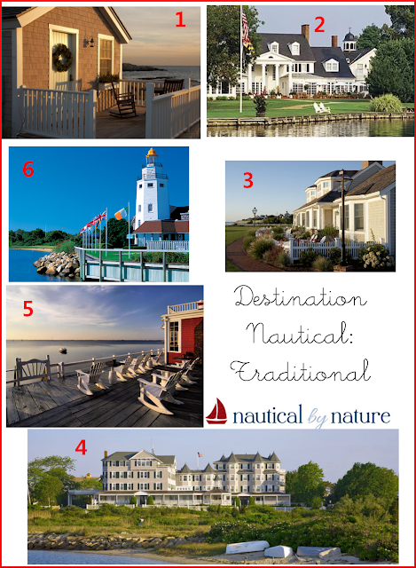 Nautical by Nature blog: Destination Nautical: Traditional
