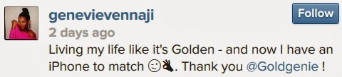 genevieve nnaji instagram