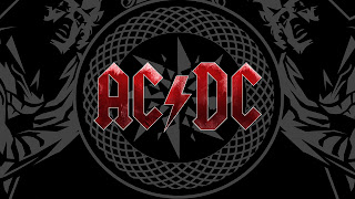 AC/DC Logo HD Wallpaper