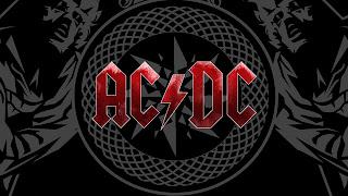AC/DC Logo HD Wallpaper