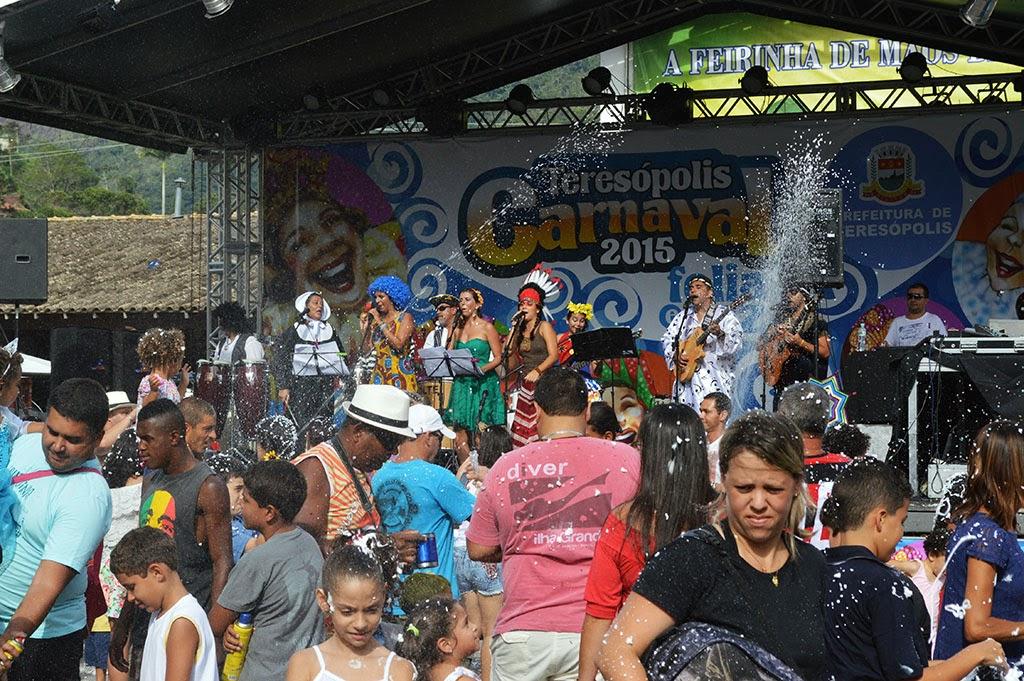 Folia e Paz 2015: música de raiz, marchinhas e pop animam o Carnaval na Feirinha de Teresópolis