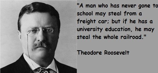 Roosevelt Quote ~