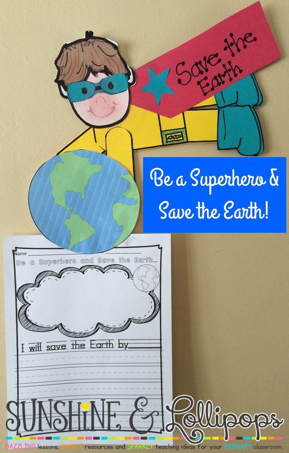 Be a Superhero and Save the Earth