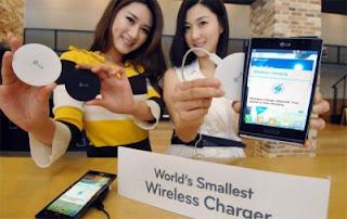 WCP-300 Charger Nirkabel Terkecil di Dunia LG