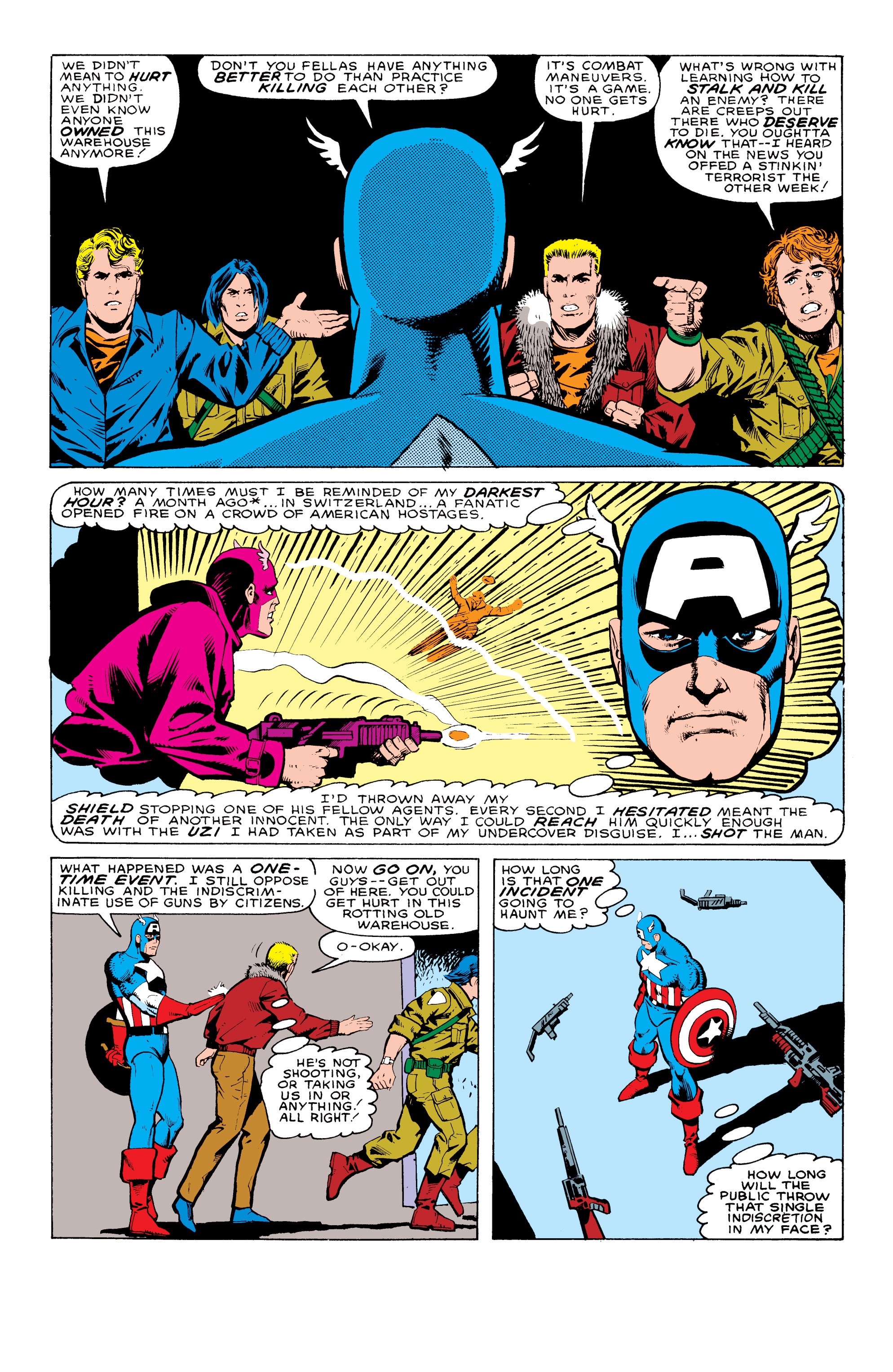 Captain America (1968) Issue #324 #253 - English 4