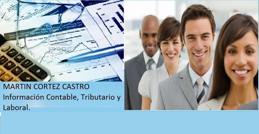INFORMACION CONTABLE, TRIBUTARIA Y LABORAL-MARTIN CORTEZ CASTRO