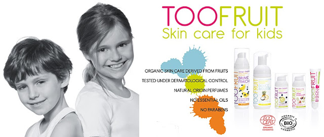 Too-Fruit organic kids skincare