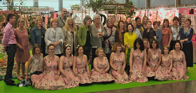 The whole picture ... exhibitors and organisers Pour l'amour du fil