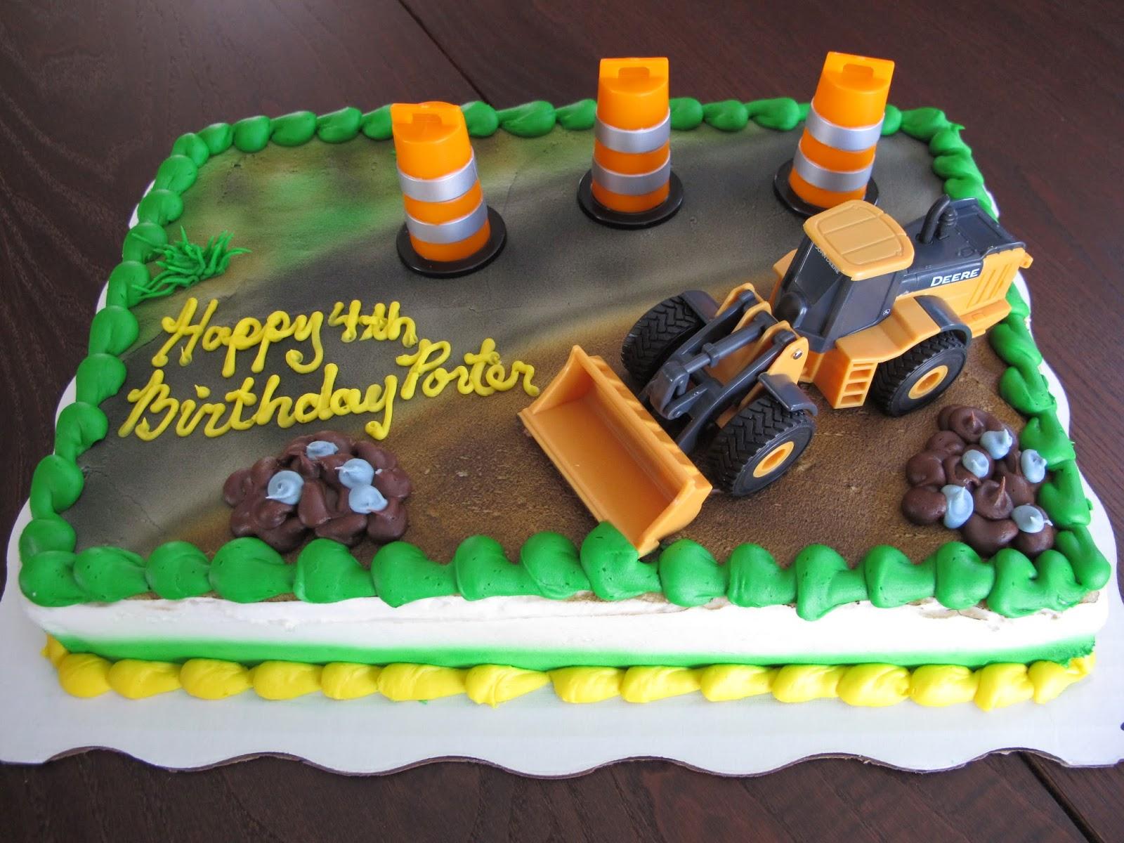 Porter's John Deere Cake
