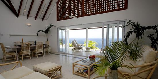 Light, bright open plan interior