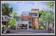 Philippine Dream House Design Three-storey Modern House