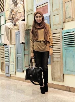 wanita Style hijab jilbab untuk remaja