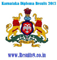 Karnataka Diploma Results 2013