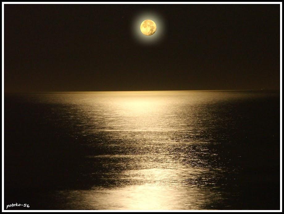 Reflejo Luna Santa Pola