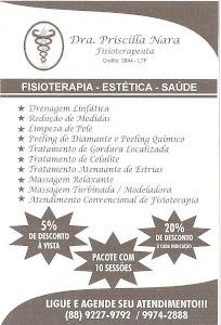 FISIOTERAPIA - ESTÉTICA - SAÚDE
