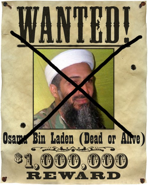 in laden wanted poster. WASHINGTON – Osama bin Laden,