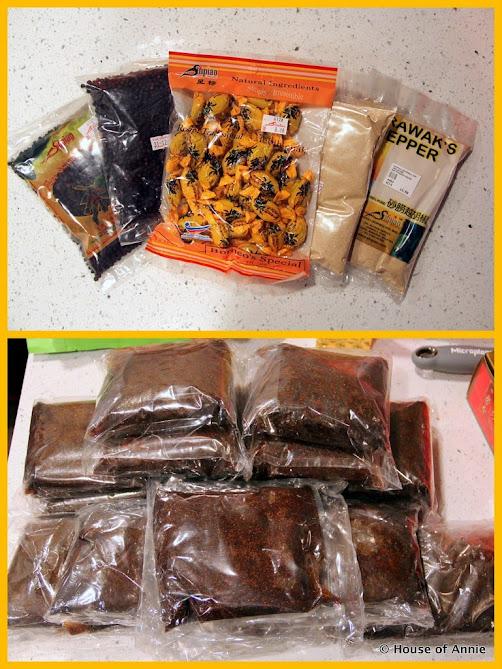 Sarawak Pepper and Sarawak Laksa Paste