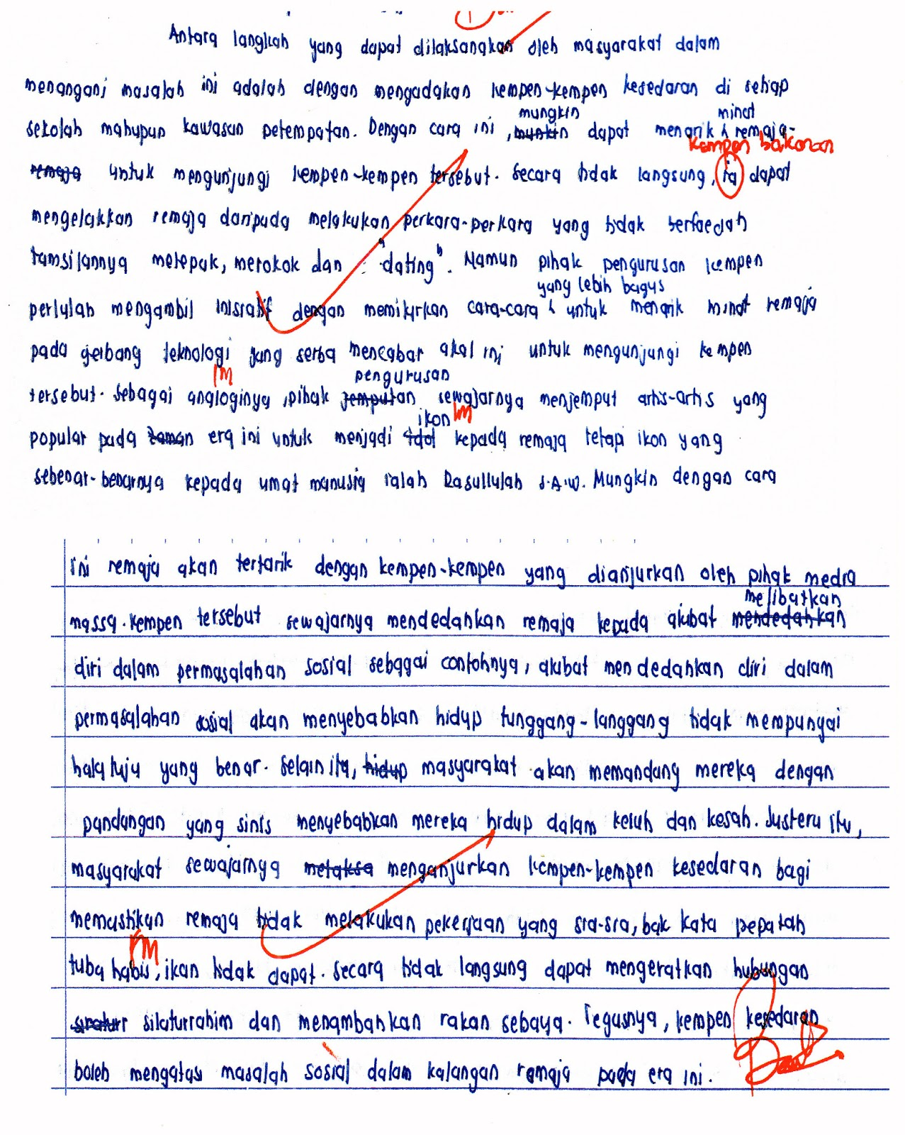 bahasa malaysia essay In malaysia, it is known as bahasa malaysia this language is also spoken in singapore and parts bahasa malaysia also has words borrowed from arabic, sanskrit, tamil, persian, portuguese, dutch.