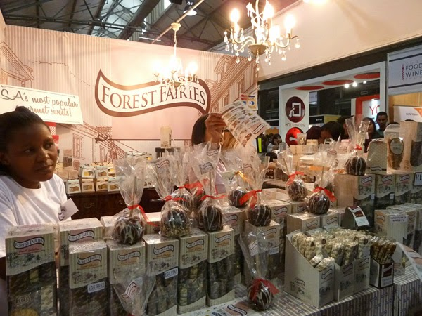 Happiness is... Durban Good Food & Wine Show 2014 - Forest Fairies