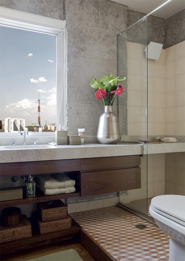 Decoración Fácil CUARTOS DE BAÑO PEQUEÑOS BIEN DISTRIBUIDOS -> Decoracao Banheiro Facil