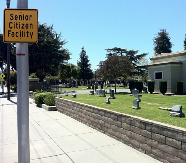 Senior Citizen Facility - Cemetery/graveyard