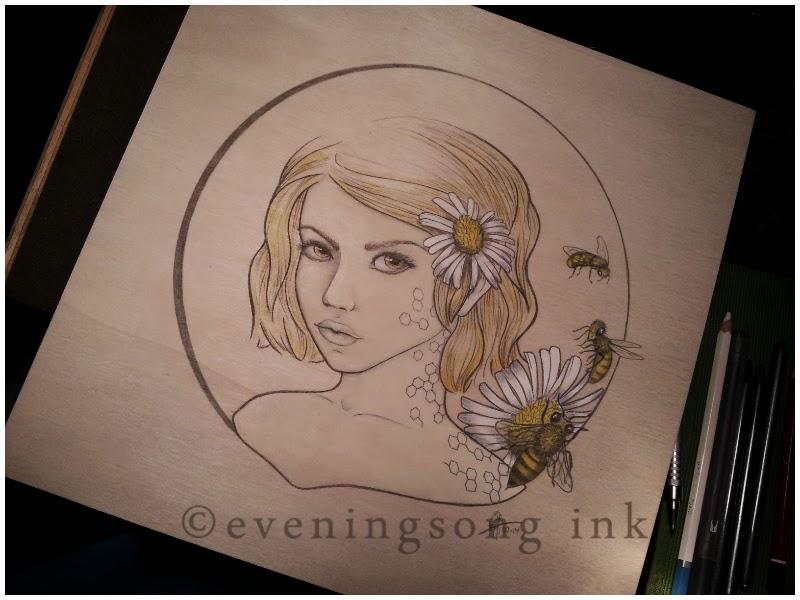 The Beekeeper's Daughter, Eveningsong Ink
