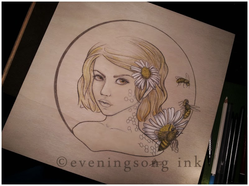 The Beekeeper's Daughter, Eveningsong Ink