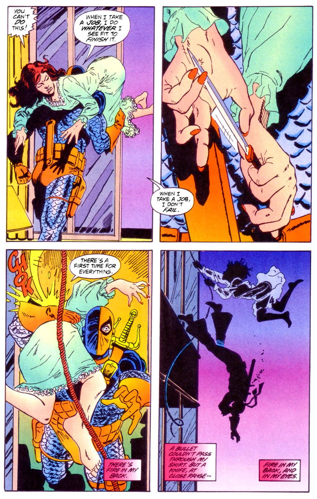 Deathstroke (1991) Issue #40 #45 - English 14