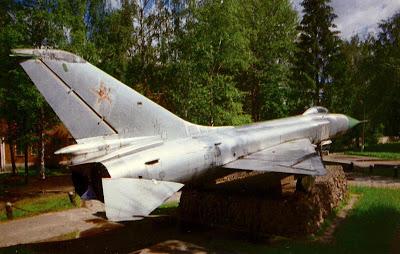Су-15 28-го гвардейского Ленинградского ИАП ПВО. Истребитель установлен как памятник в гарнизоне Андреаполь Тверской области.