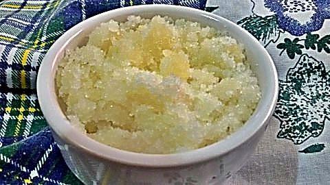 Exfoliante para el rostro de azúcar y aceite2