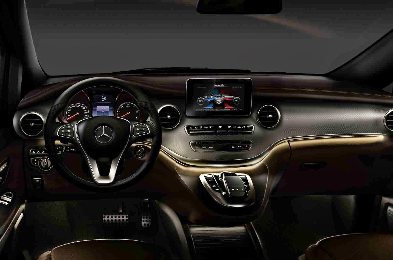 Erste Bilder: Mercedes-Benz gewährt Einblicke in den Innenraum der ...
