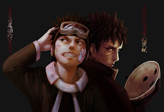 Obito Uchiha Anime Mask Goggles HD Wallpaper Desktop Background