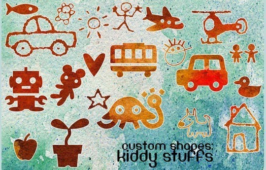 25 Useful Free Photoshop Custom Shape Sets