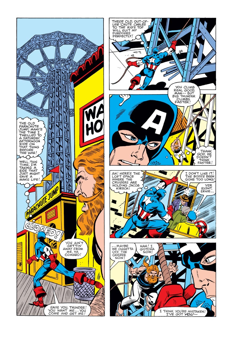 Captain America (1968) Issue #240 #155 - English 16