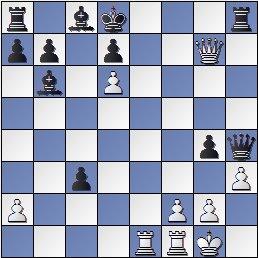 Posición de la partida de ajedrez Sala-Capdevila después de 21.Dxg7