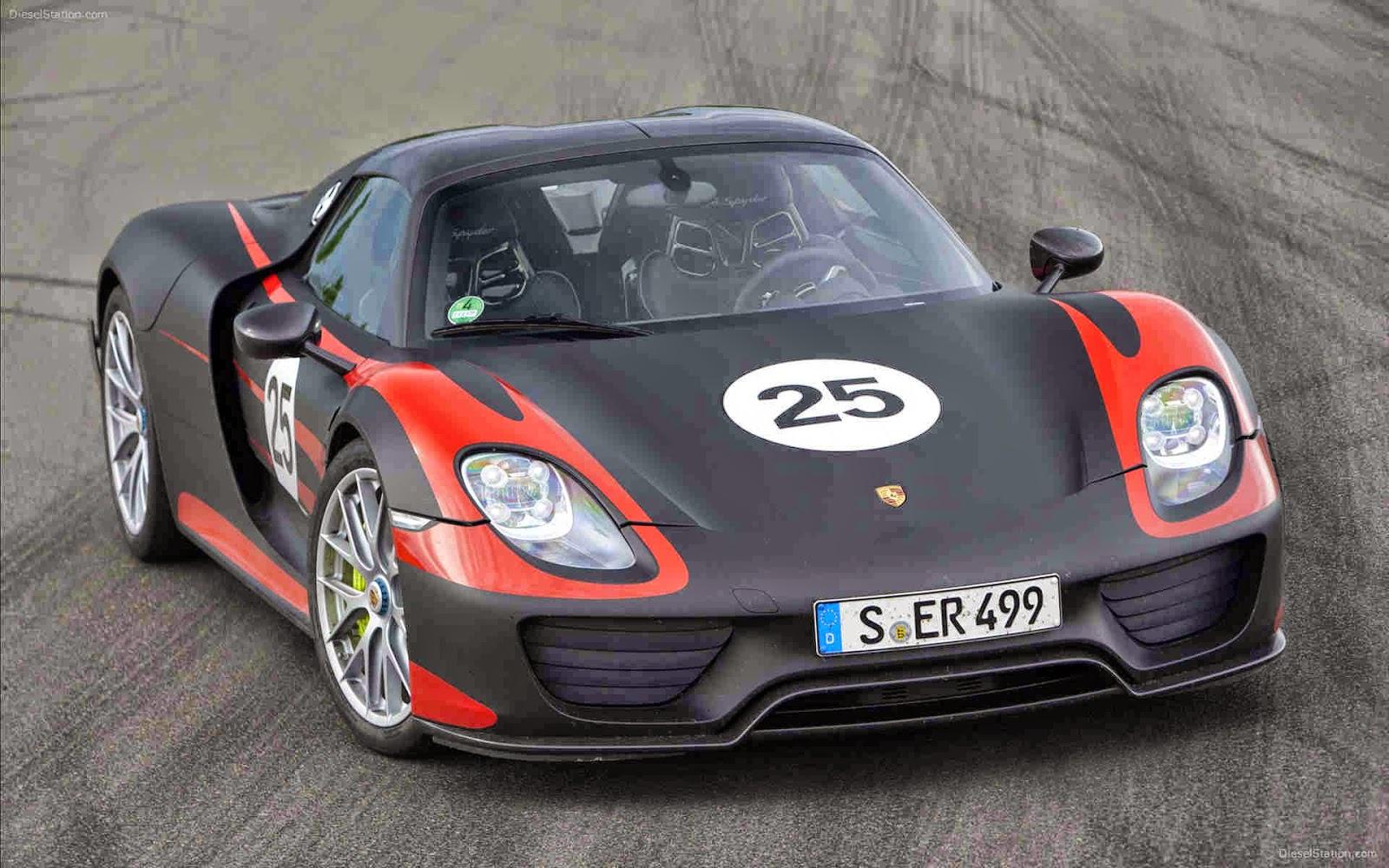 Porsche 918 Spyder Exquisite Design And Power Of 875bhp