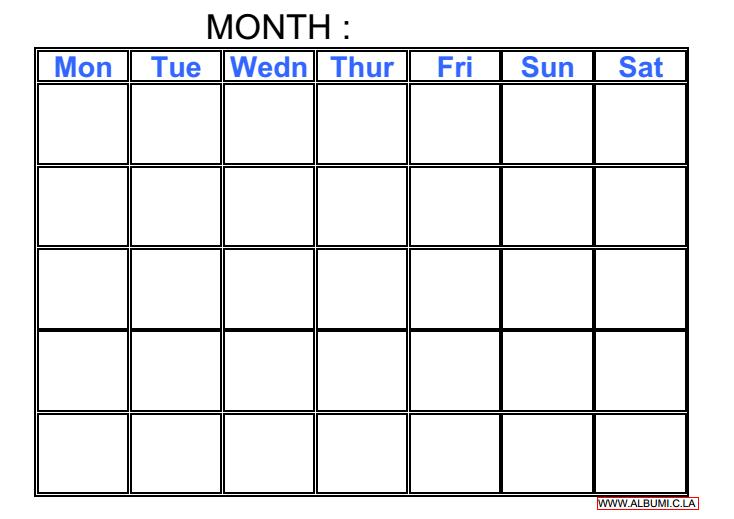 Calendar Grid : The gallery for gt weekly planner with times template