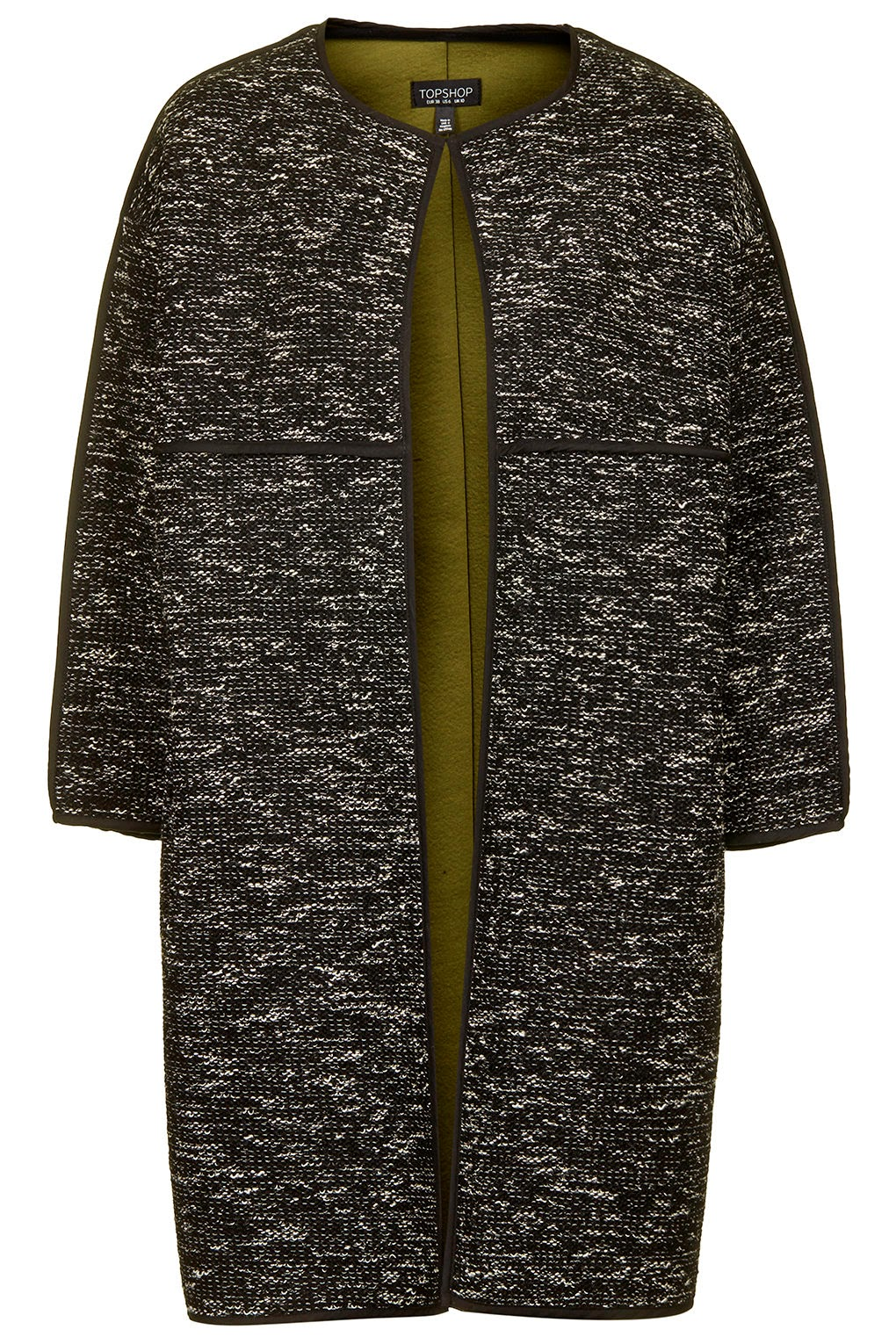 topshop blanket coat