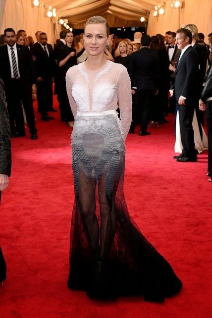 Naomi Watts Gala MET 2014
