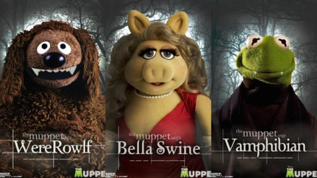 Muppet Saga Twilight posters