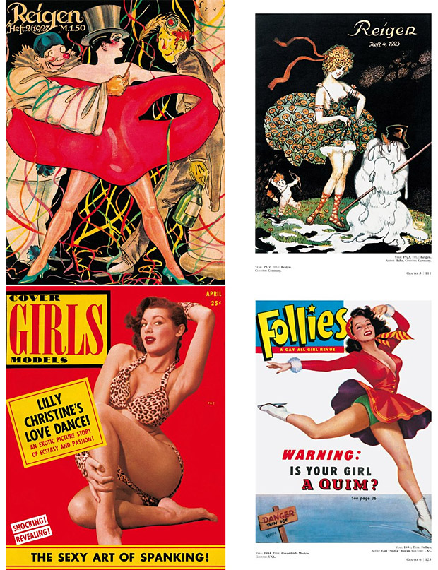 History of Pin-up Magazines . This compact ( Pin-up Photos ), three-volume book set chronicles the rise of pin-up girly magazines from 1900-1969