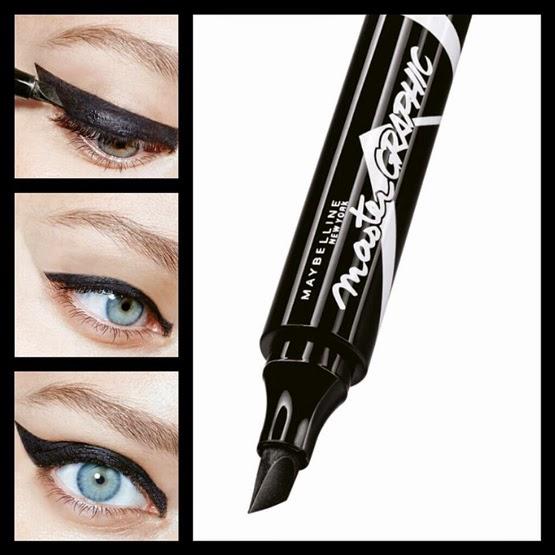 Master Graphic eyeliner Maybelline cómo usar