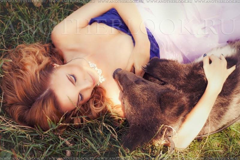 красивая фотосессия с медвежатами