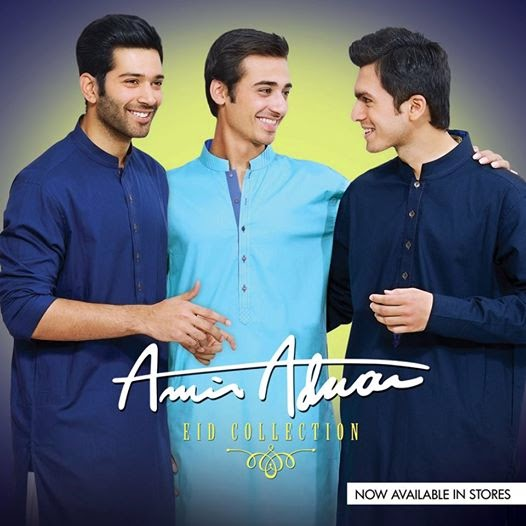 Amir Adnan Men Kurta Eid Collection 2014