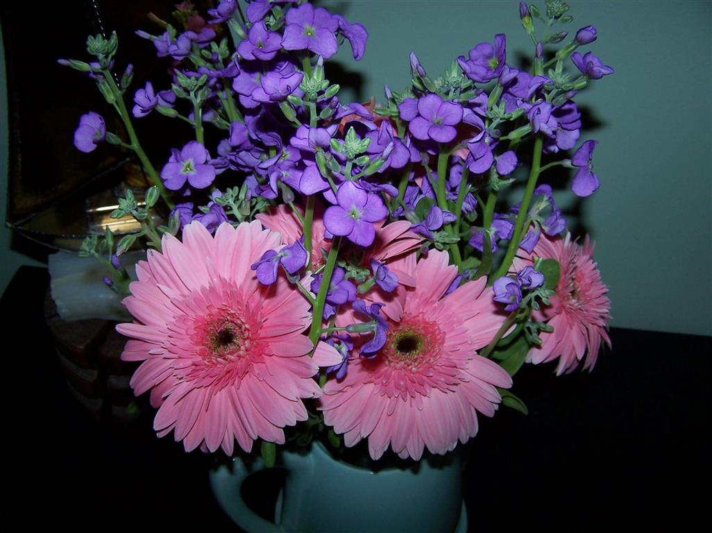Perennial Passion Tea Pot Flower Bouquets