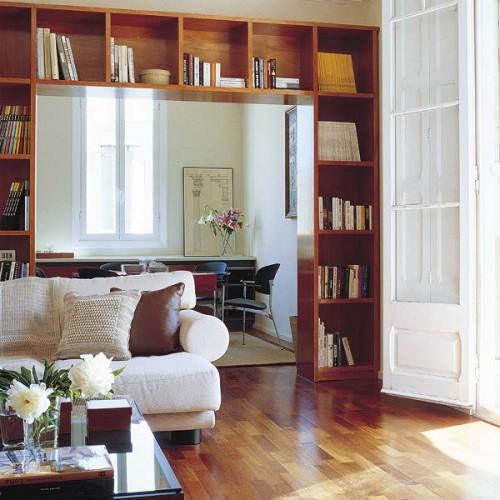 c mo organizar una biblioteca en el living room sala de
