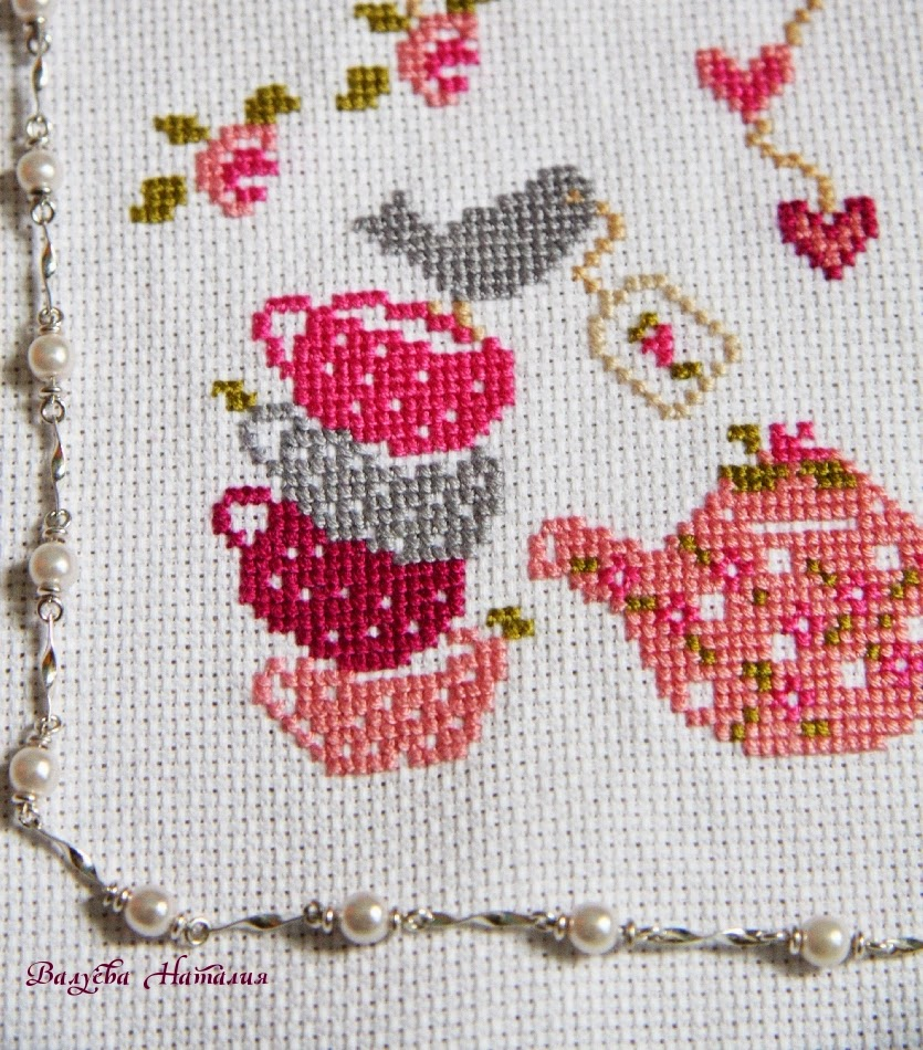 чашки, птица, розы, шебби шик